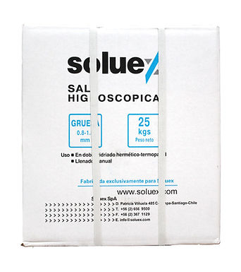 SALES HIGROSCOPICAS 0,8 - 1,5 - 25 KG
