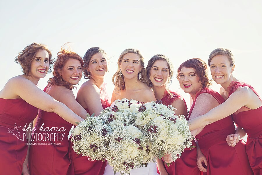 bridal party the kama photography