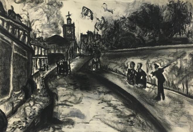 Rue de l'Abbe-de'L'Epee and the Church o