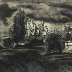 View at Rouelles, Le Havre, 1858