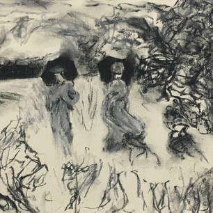 Promenade near Argenteuil, 1873