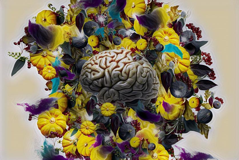 Shared Consciousness Brain on Pumpkins.J