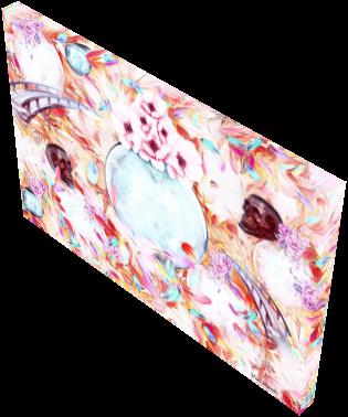 Canvas Prints: Crystal consciousness