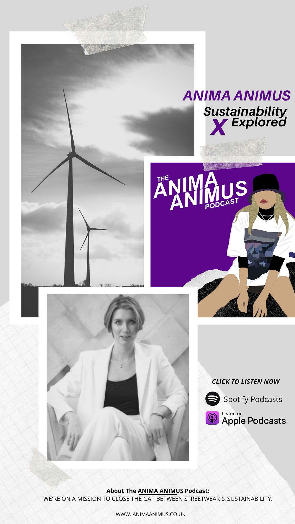 Anna Chashchyna, from Sustainability Explored Podcast