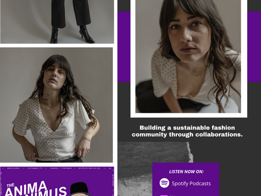 Ep 37. Building a sustainable fashion community through collaborations, with Nadine Banks.