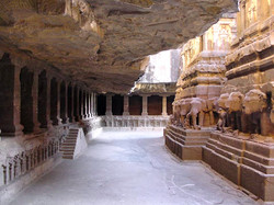 Indian cave temple, Maharastra