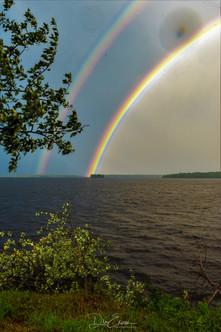Rainbow Pinehouse Lake