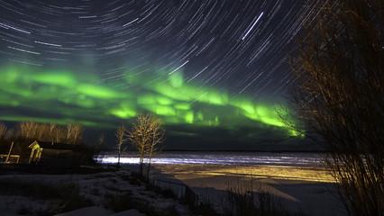 Pinehouse Northern lights