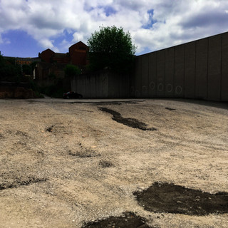 Hard Stone Car-Park Pot holes Repair
