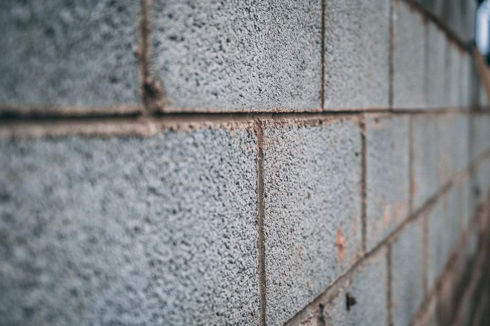 hollow block wall