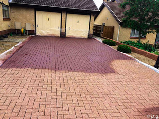 recolored drive-way