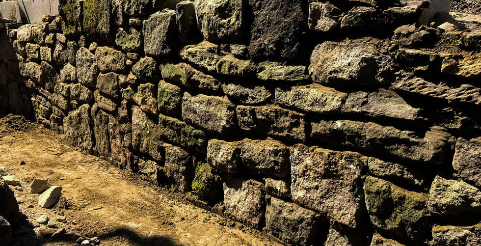 yorkshire stone wall