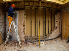 build knock through