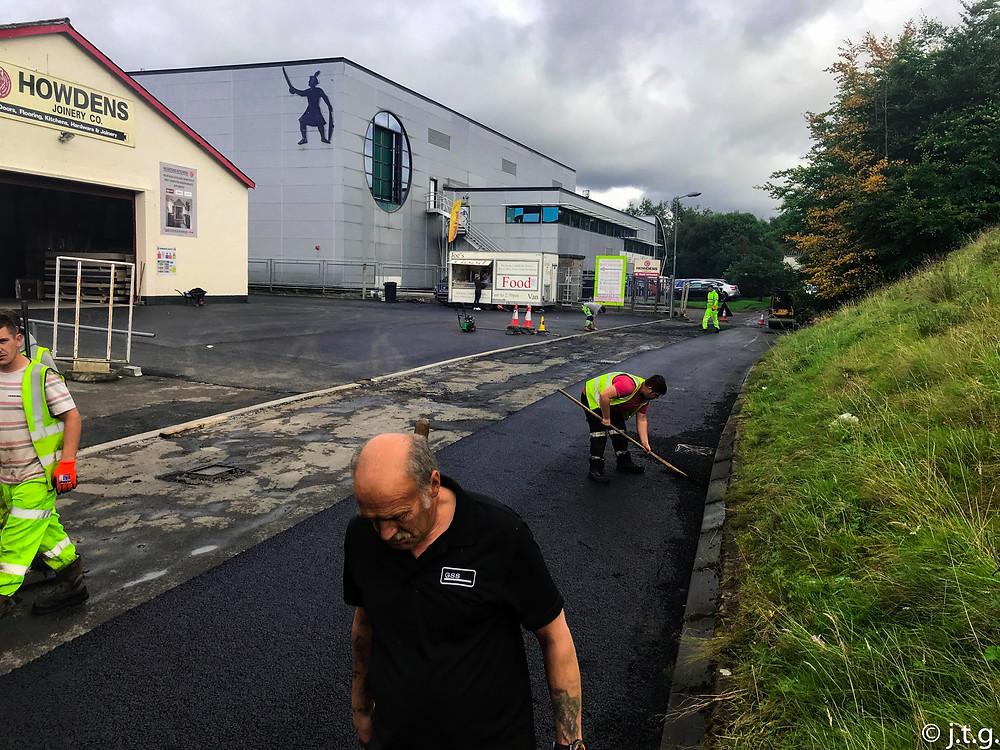 Road-way resurfacing