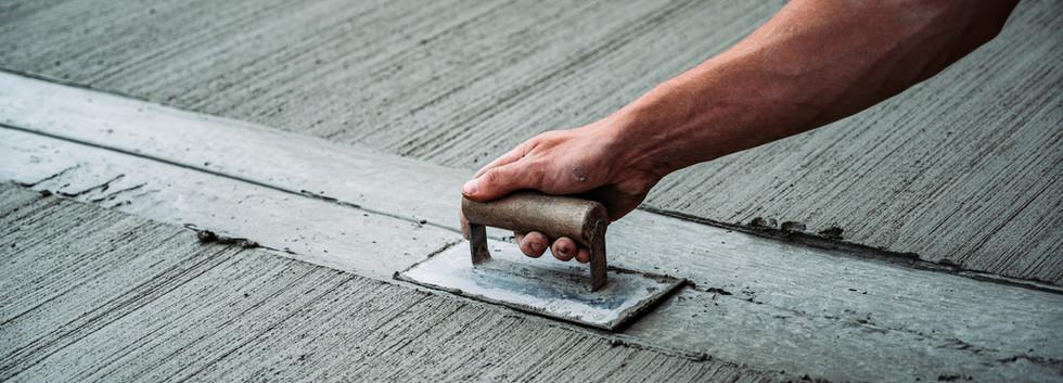 concrete drives