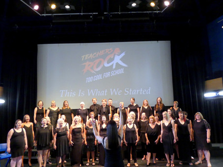 Teachers Rock® debut Album Launch featuring Teachers Rock® Youth Choir 'This Is What We Started&