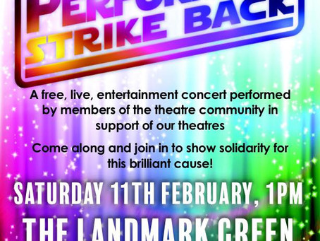 Catch the Teachers Rock set at The Performers Strike Back open air concert on Saturday 11th February