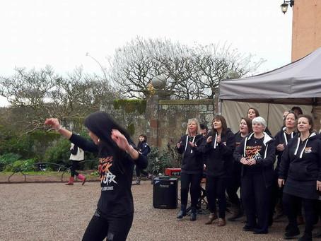 Teachers Rock® celebrate Christmas at National Trust Killerton