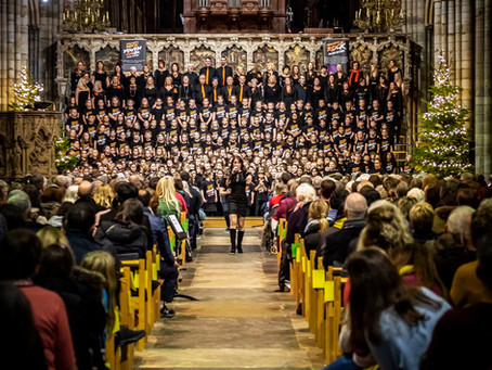 Teachers Rock® Return to the Cathedral at Christmas - it's a sell-out!