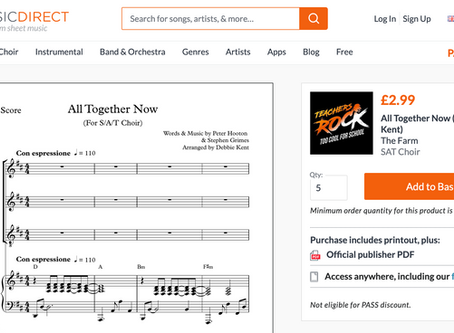 New affiliate partnership with leading online music publisher Sheet Music Direct announced