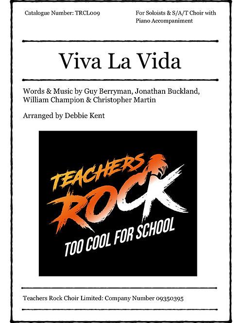 Viva La Vida - Full Piano Score plus Vocal Score