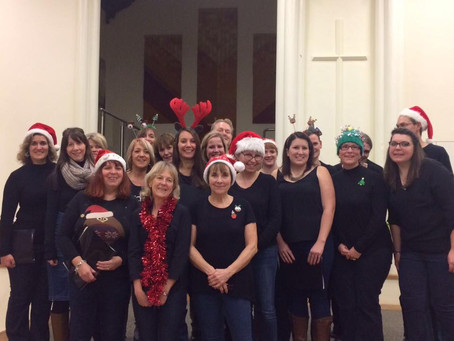 Teachers Rock debut performance at St Stephen's Church - Thursday 8th December 2016
