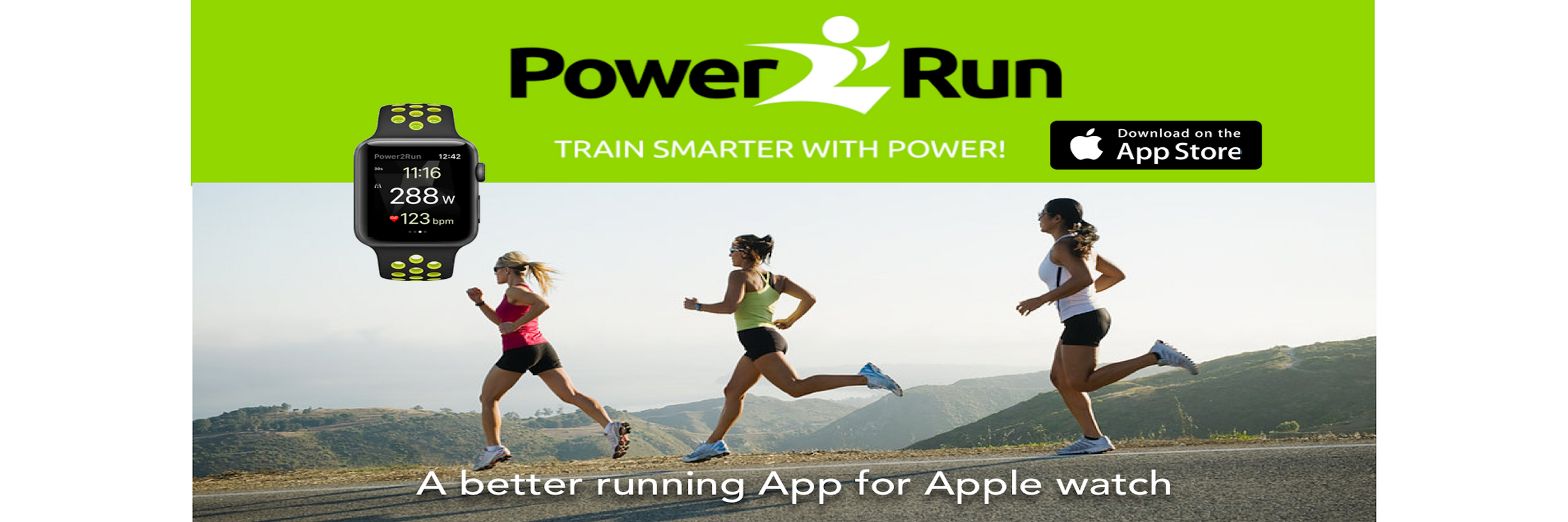 Running Links | Power2run iphone app: Discover running with
