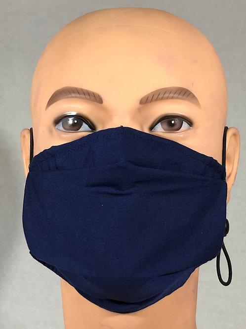 Masque bleu marin