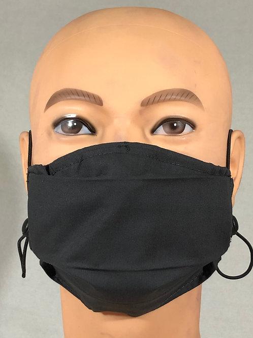 Masque gris foncé