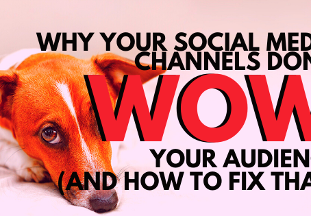 Why Your Social Media Channels Don't Wow Your Audience (And How to Fix That)