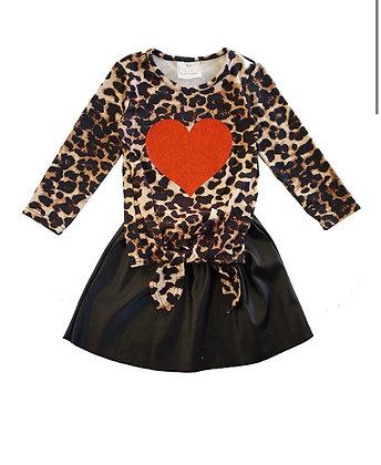 Leopard Heart Set