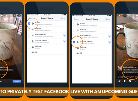 How To Successfully Broadcast a Facebook Live with Guests
