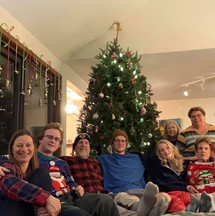 Christmas cheer from our family to yours