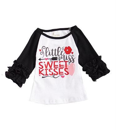 Little Miss Sweet Kisses Shirt