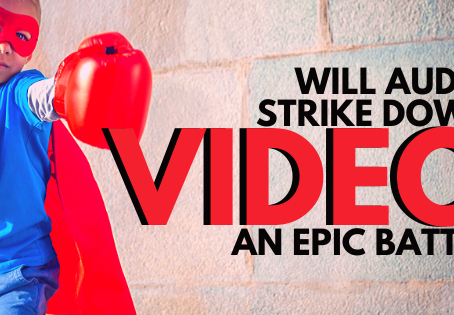 Will Audio Strike Down Video? An Epic Battle!
