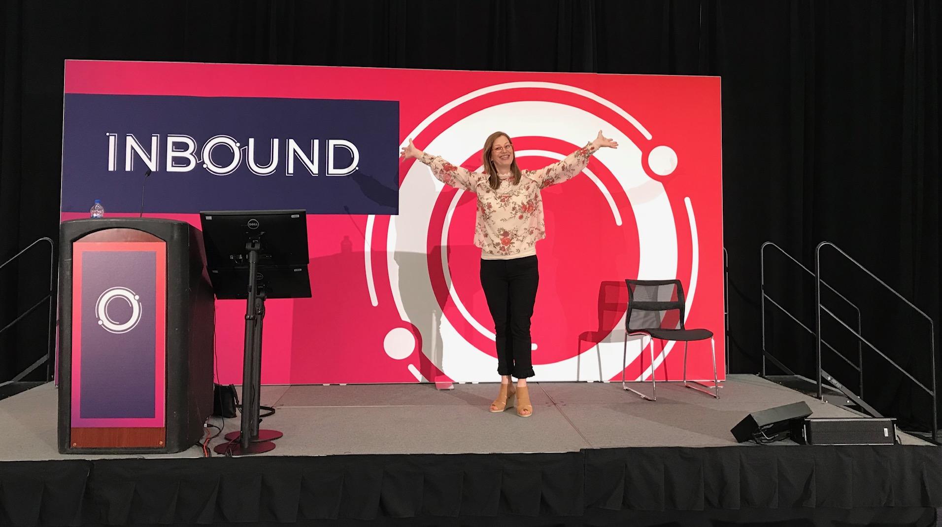 INbound on stage