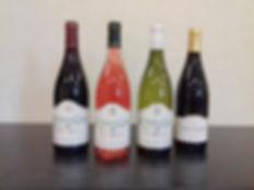 Nos 4 bouteilles