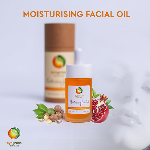 Moisturising Facial Oil for Dry and Dehydrated Skin