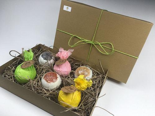 Bath Bombs Gift Set (6 Bath Bombs)