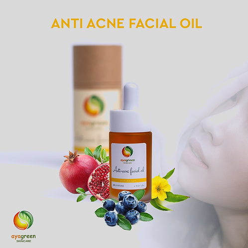 Anti Acne Facial Oil for All SkinTypes