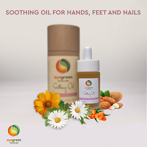 Soothing Oil for Hands, Feet and Nails