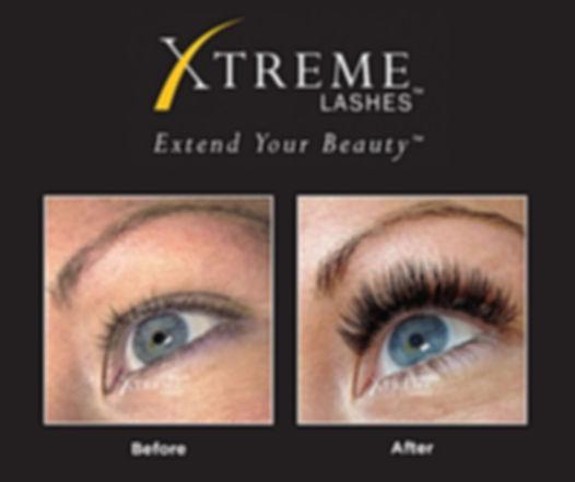 Podaljševanje trepalnic Xtreme Lashes