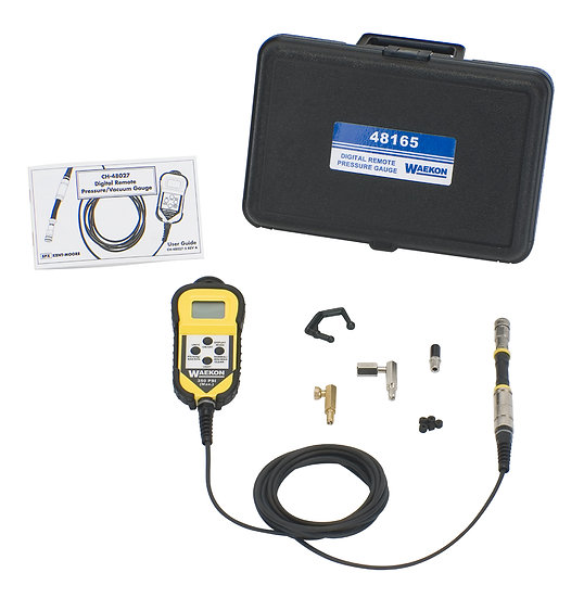 Universal Digital Pressure Gauge with Remote Readout