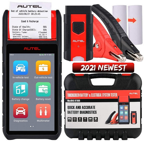 Autel MaxiBAS BT608 Vehicle Battery Tester *$1,095 Excluding GST*