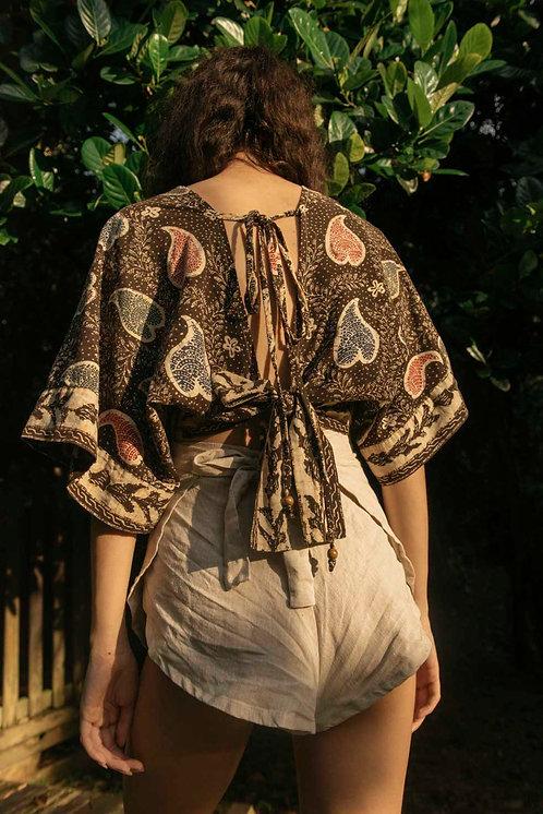 Butterfly Sleeve Top