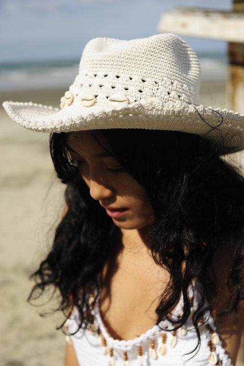 Cotton Crochet Hat