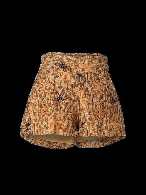Taro high waisted flare shorts