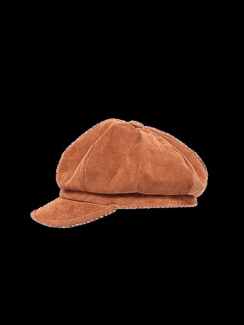 Dona light weight corduroy newsboy hat