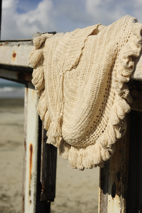 Jelly Fish Crochet Sling Bag