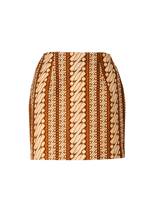 Summer Ray high wasited mini skirt